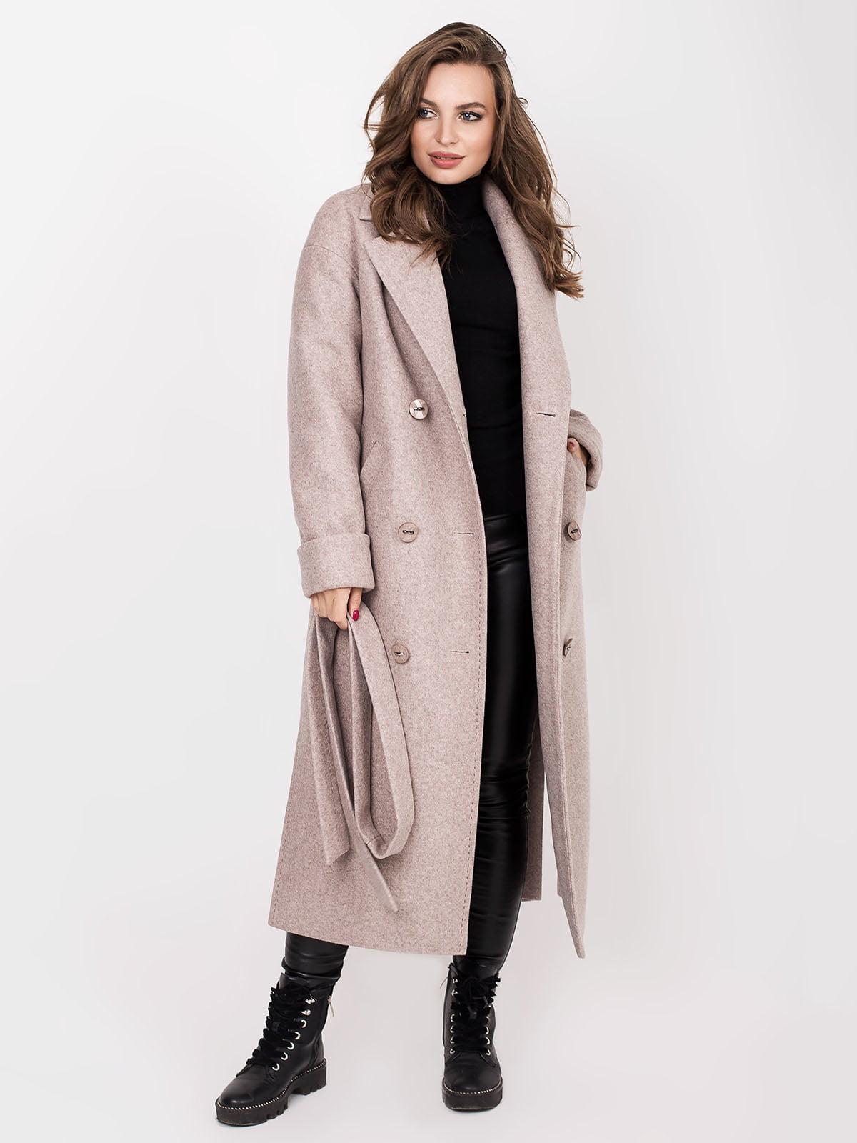 Пальто кольору мокко | 5244195