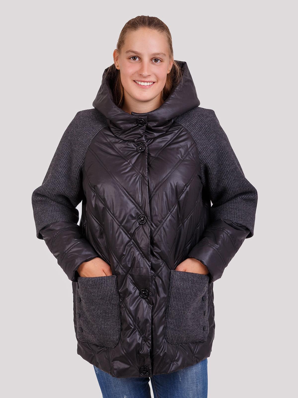 Куртка чорна | 5246205