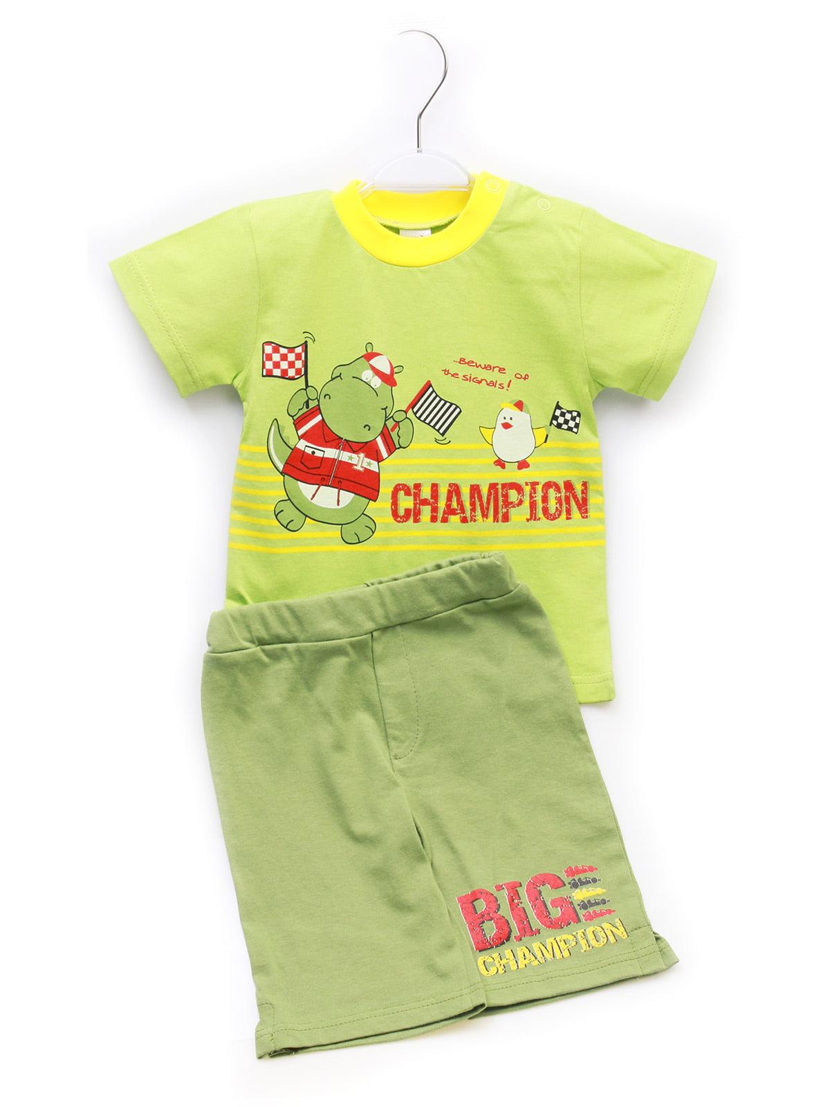 Комплект: футболка и бриджи | 5246845