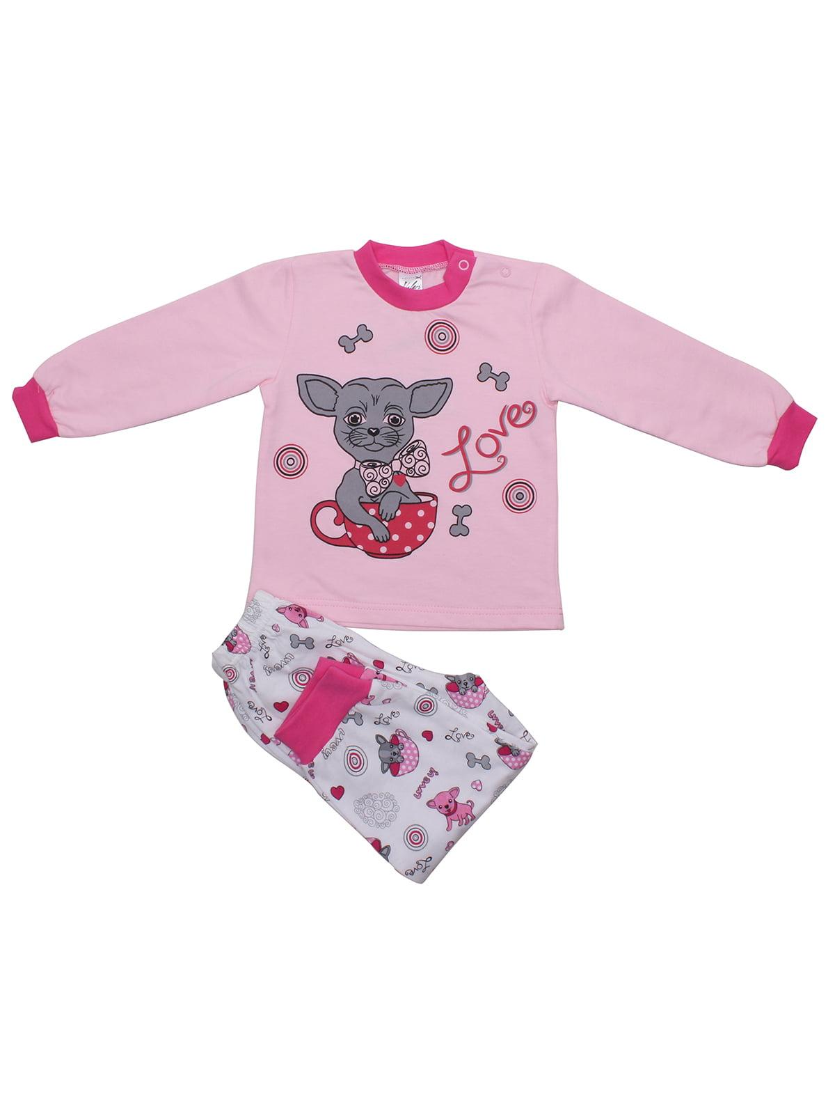Пижама: джемпер и брюки | 5246876