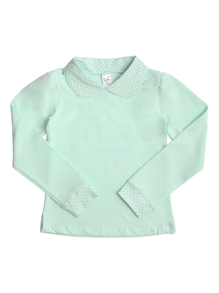Блуза ментолового кольору | 5247913