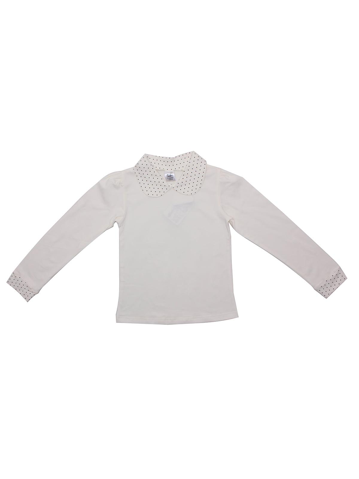 Блуза молочного кольору | 5247940