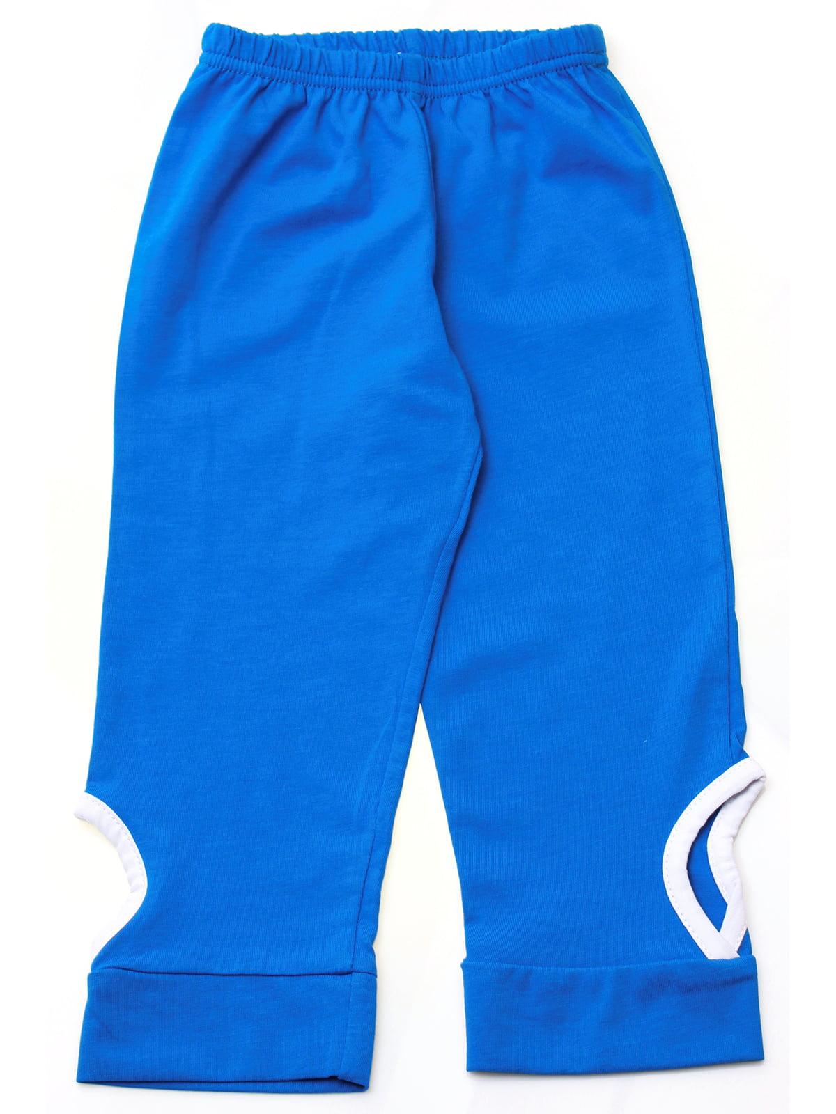 Брюки синие | 5247977
