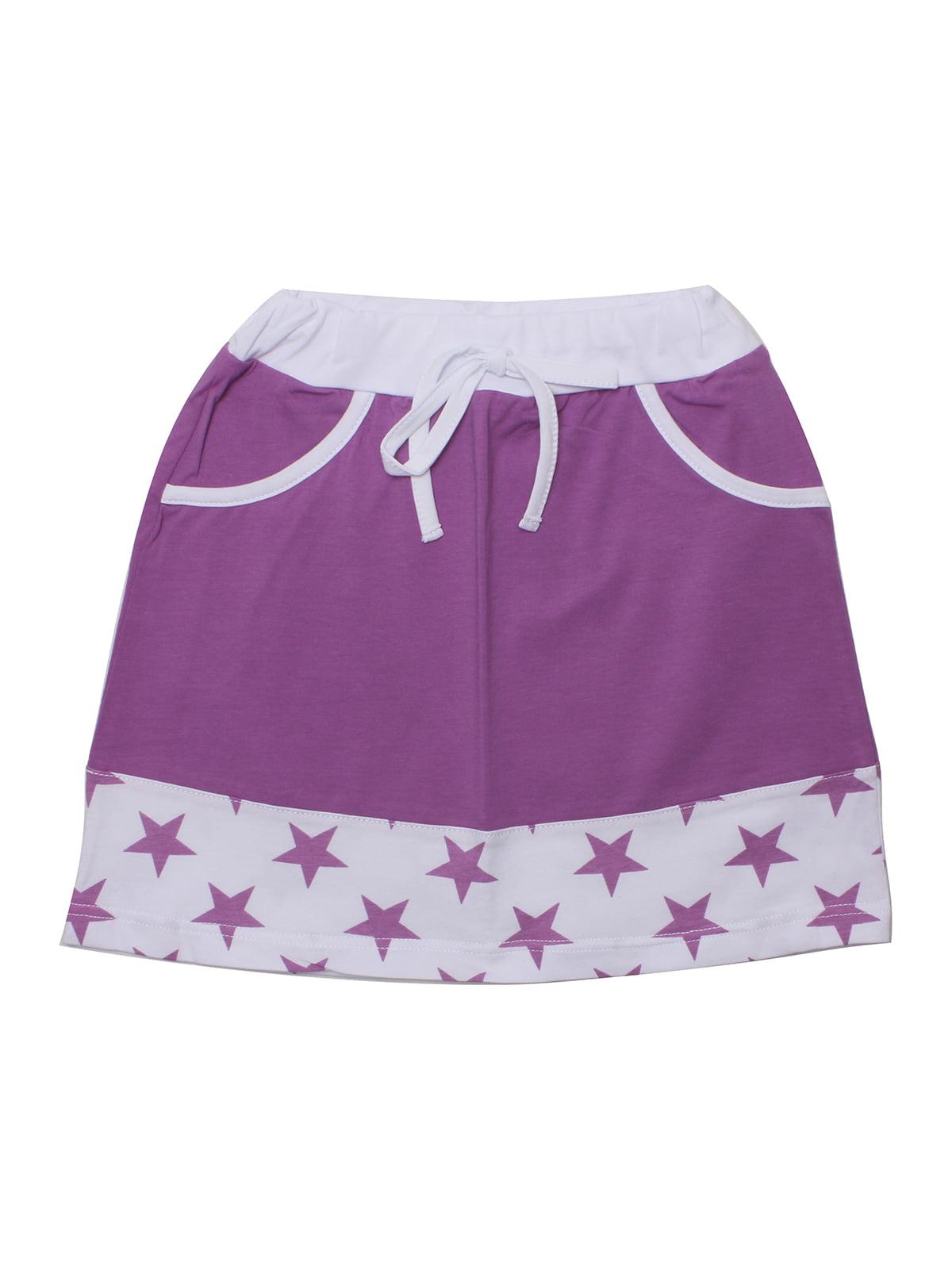 Юбка фиолетовая | 5248124