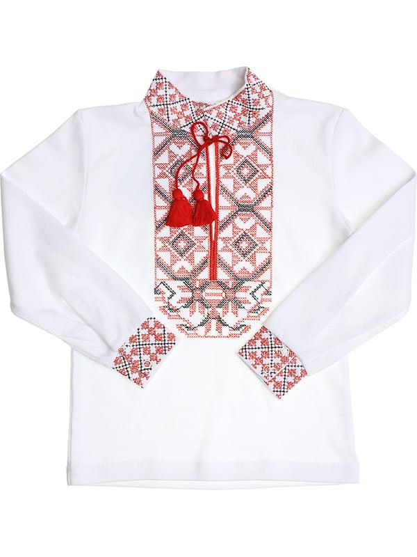 Рубашка-вышиванка белая   5248353