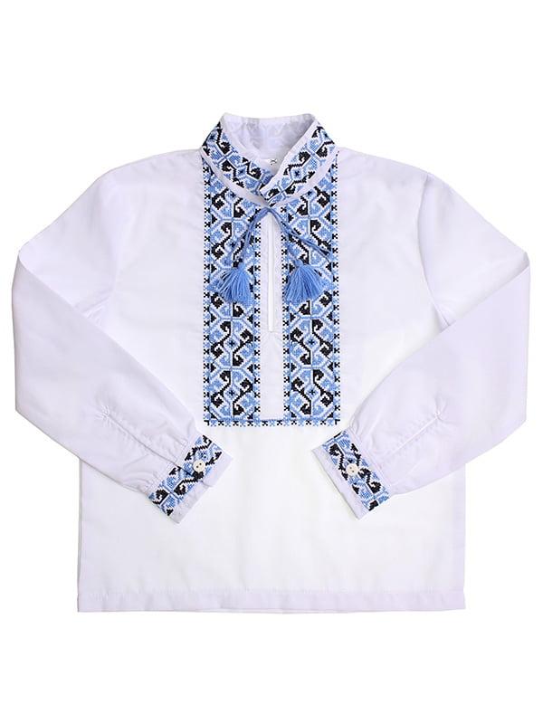 Рубашка-вышиванка белая   5248360