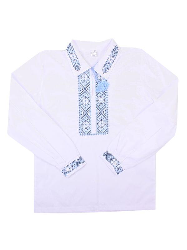 Рубашка-вышиванка белая   5248363