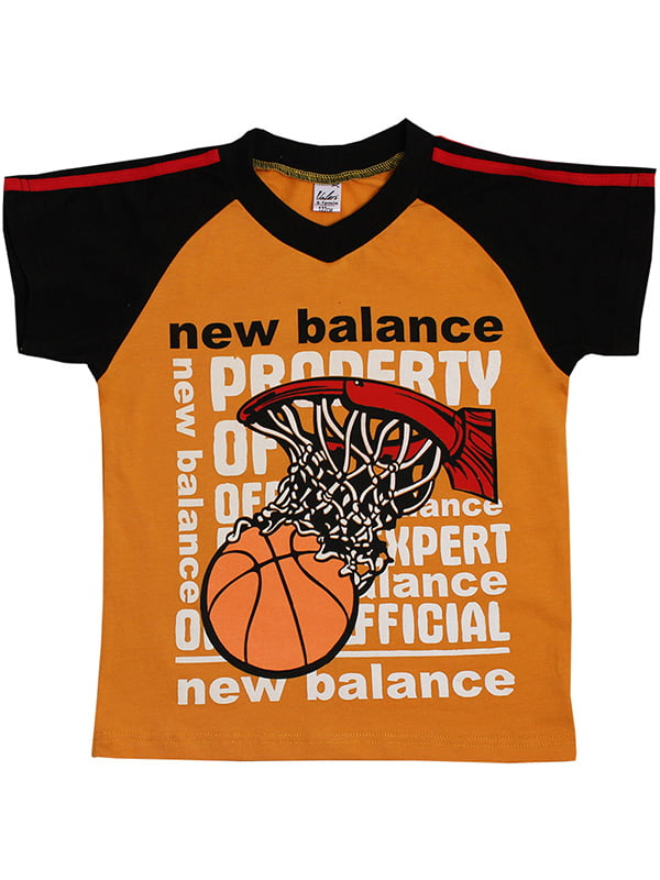 Футболка оранжевая | 5248480