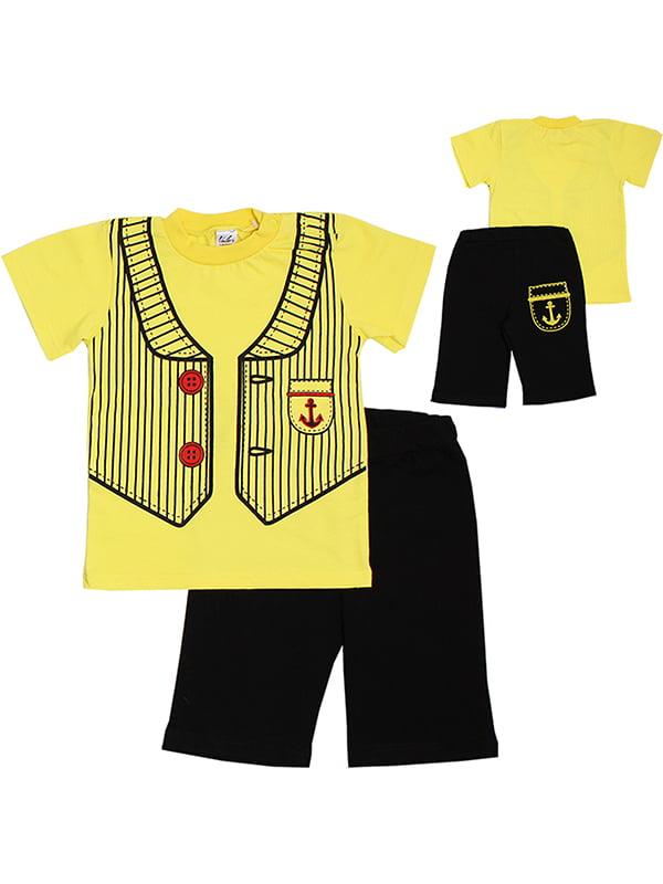Комплект: футболка и бриджи | 5248591