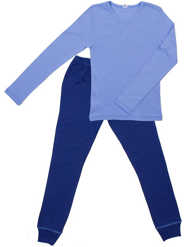 Комплект: лонгслив и брюки | 5248596