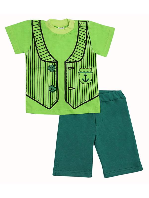 Комплект: футболка и бриджи   5248597