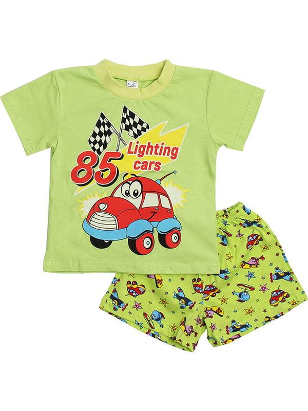 Комплект: футболка и шорты   5248602