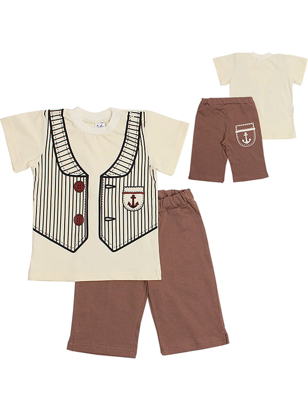 Комплект: футболка и бриджи | 5248605