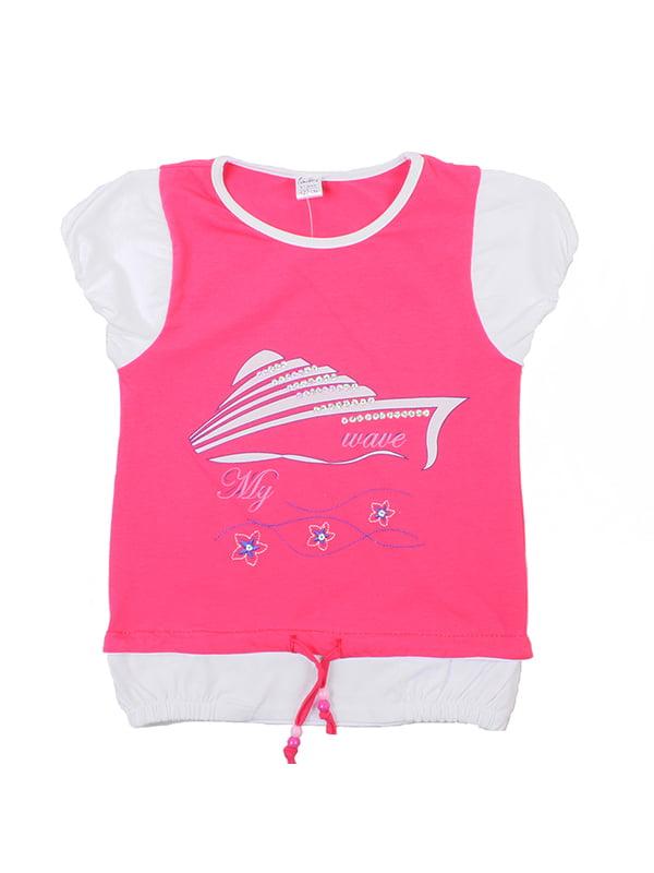 Блуза розовая | 5248655