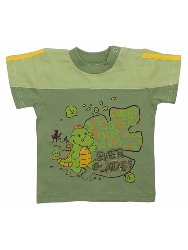 Футболка зеленая | 5249010