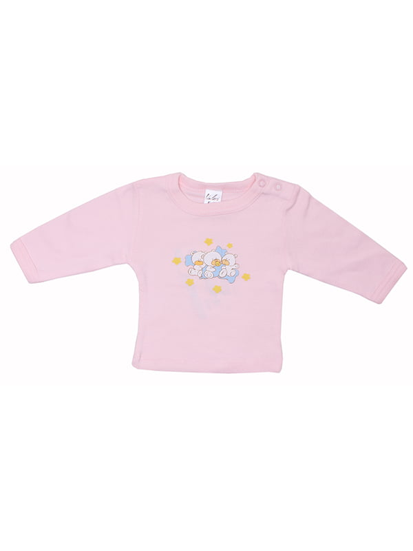 Лонгслів рожевий | 5249153