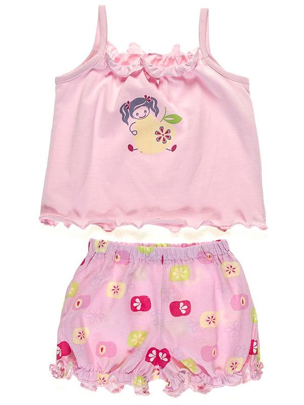 Пижама: майка и шорты | 5249174