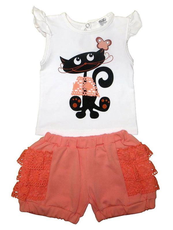 Комплект: футболка и шорты   5249260