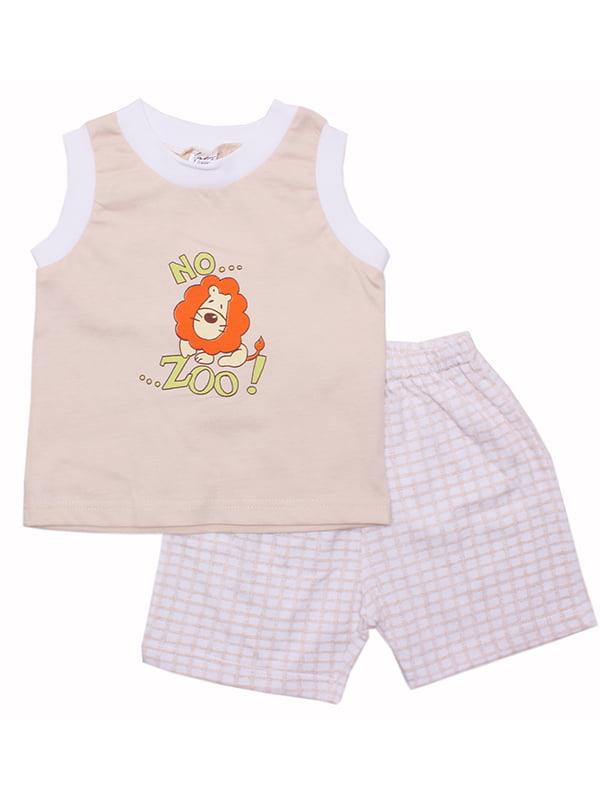 Комплект: майка и шорты | 5249302