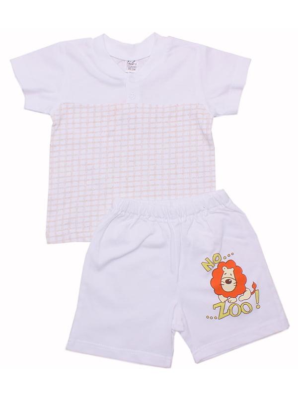 Комплект: футболка и шорты | 5249304