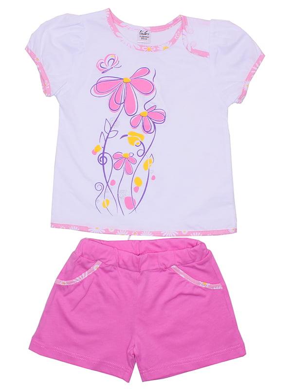 Комплект: футболка и шорты | 5249319