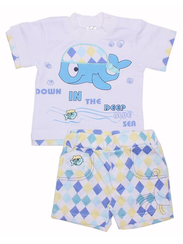 Комплект: футболка и шорты | 5249379