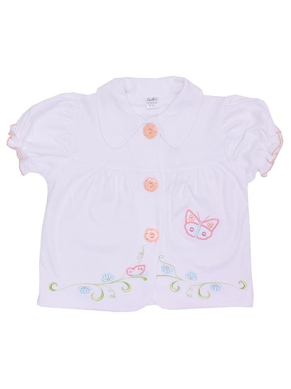 Блуза белая   5249814
