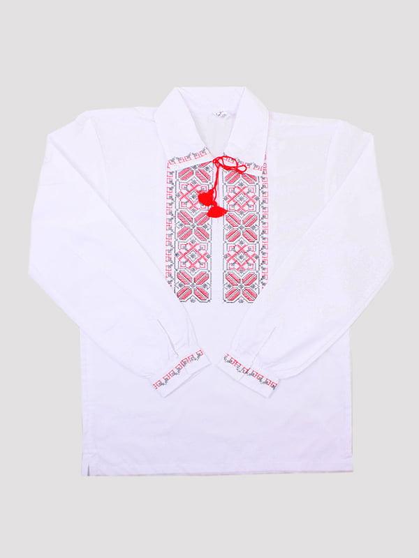 Рубашка-вышиванка белая | 5249903