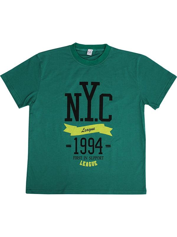 Футболка зеленая | 5249911