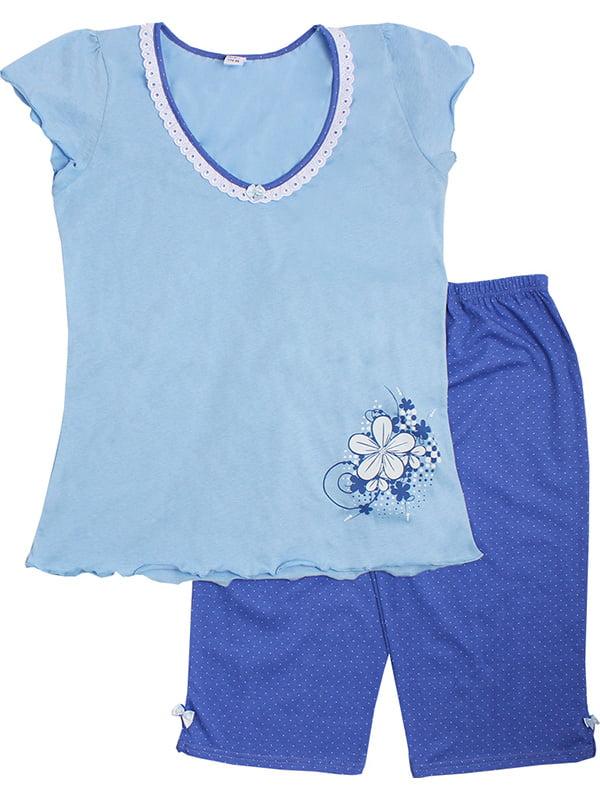 Комплект: футболка и бриджи | 5249932