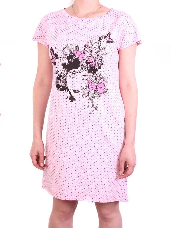Платье розовое | 5249993