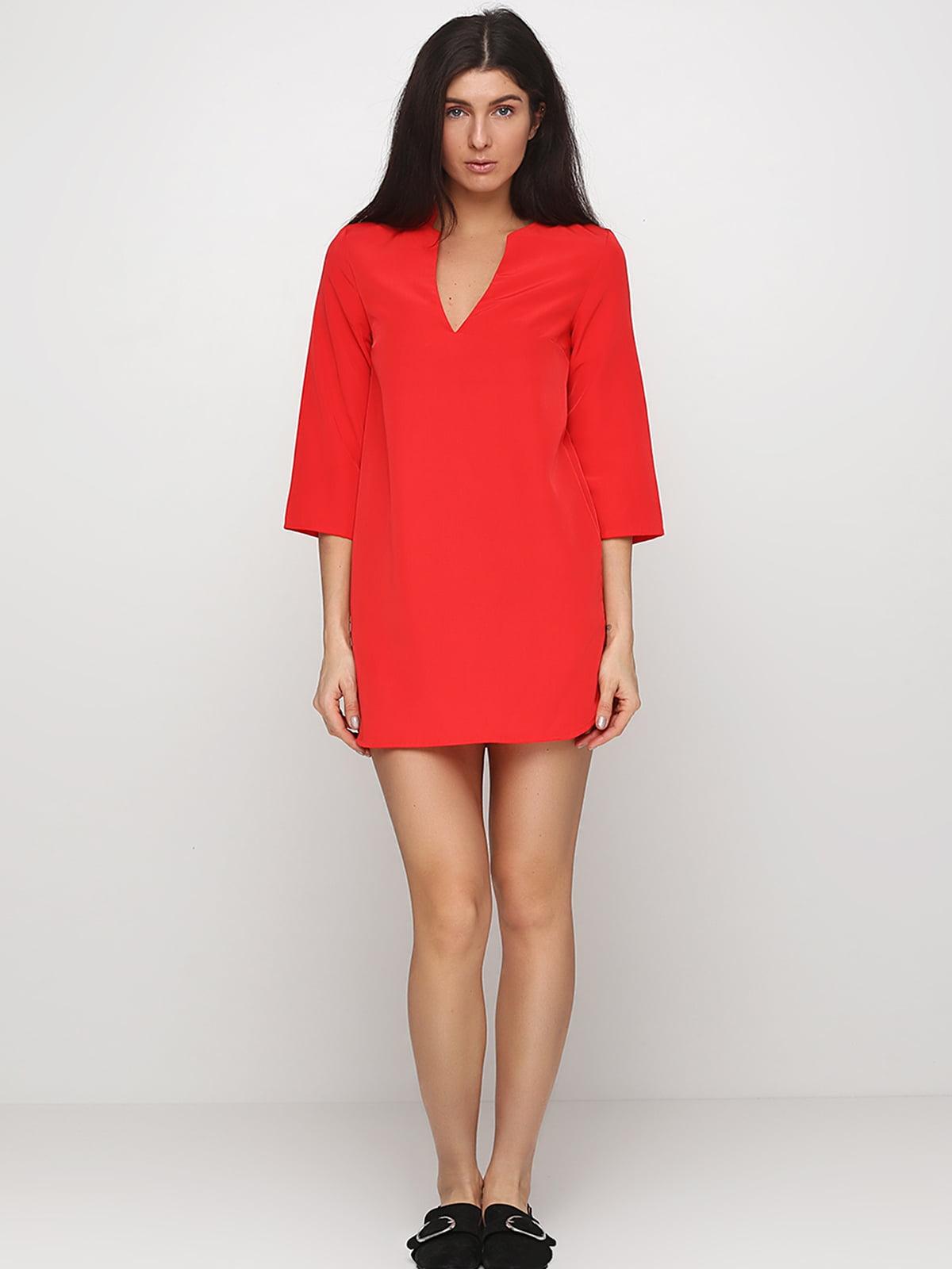 Платье красное | 5244204