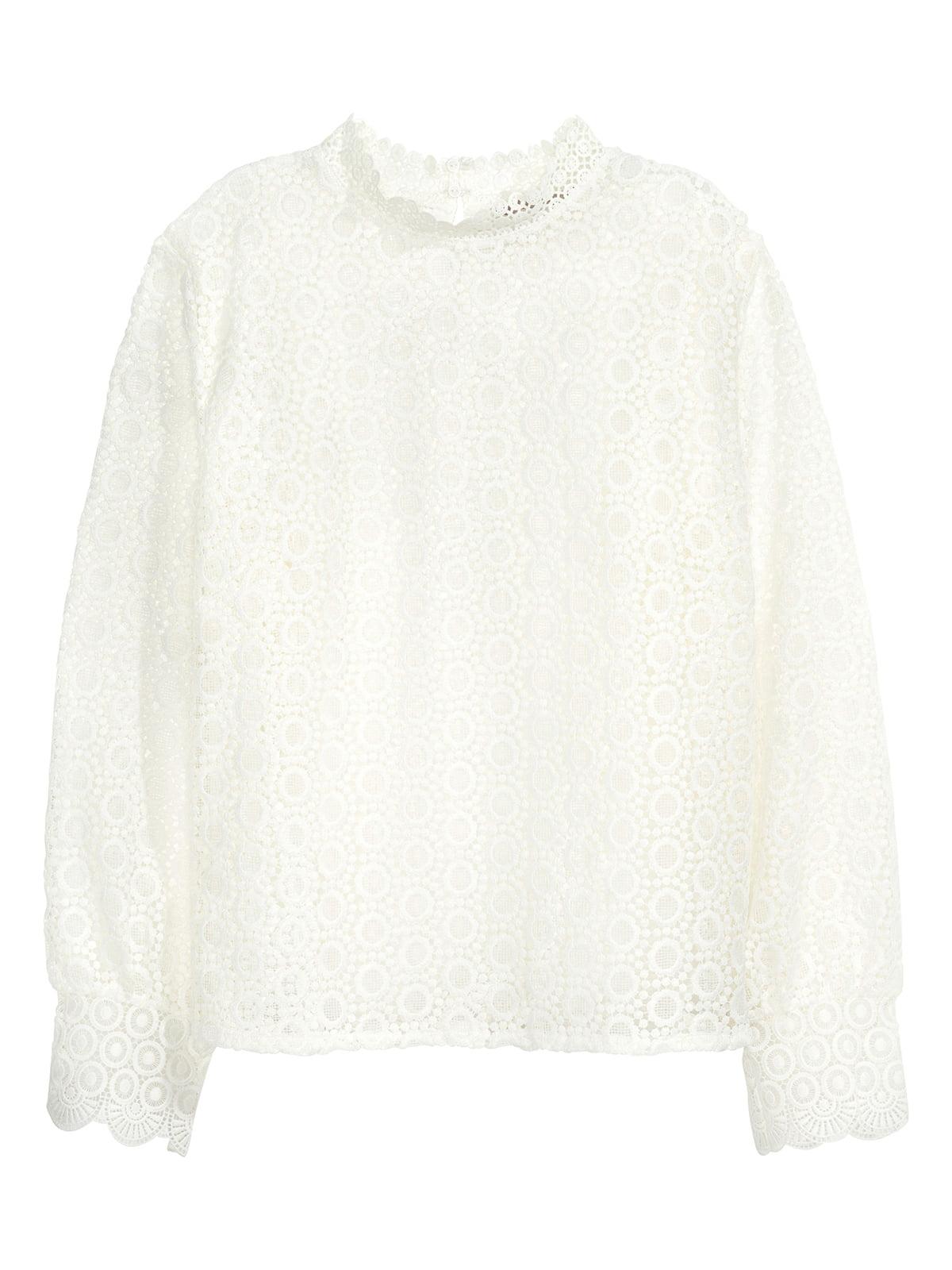 Блуза молочного цвета   5244230