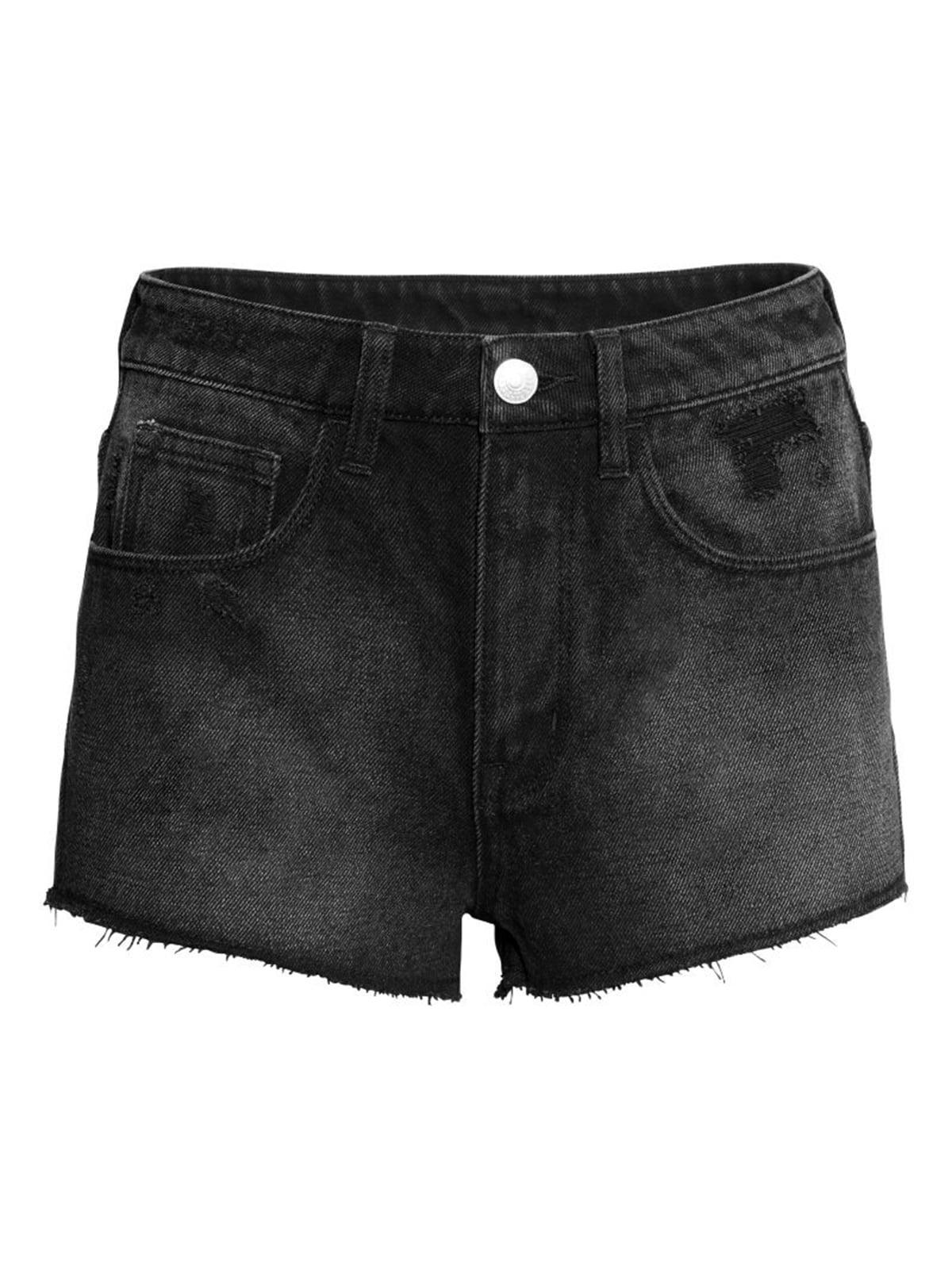 Шорты джинсовые черные | 5244309
