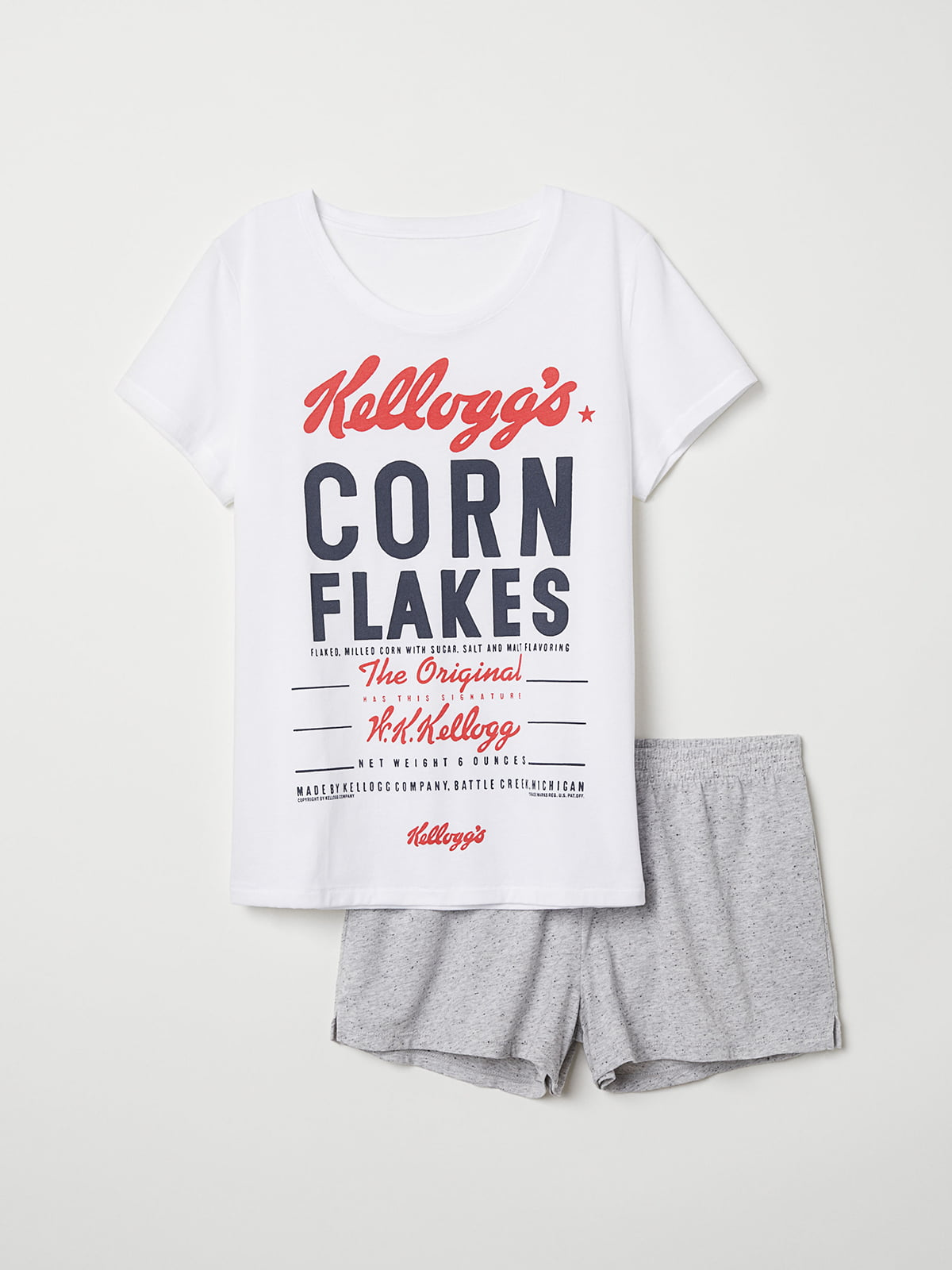 Пижама: футболка и шорты | 5244317