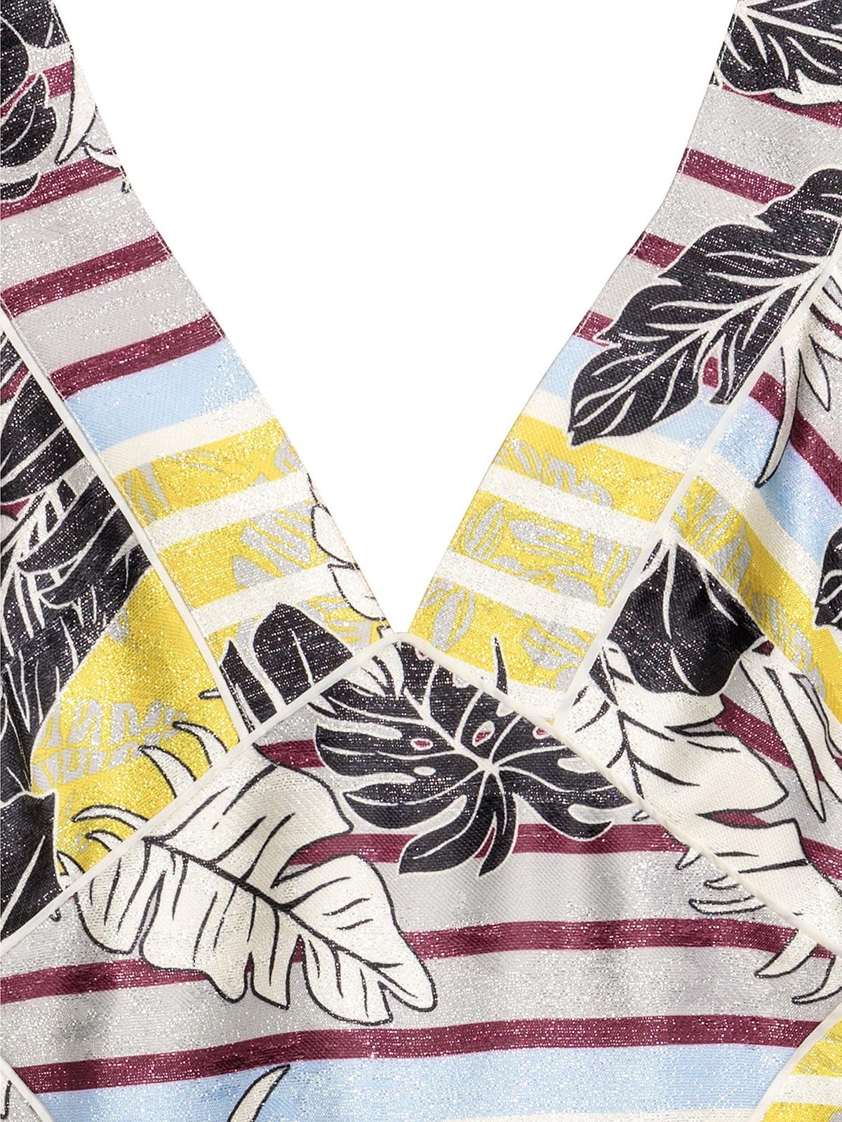Платье комбинированной расцветки | 5244511