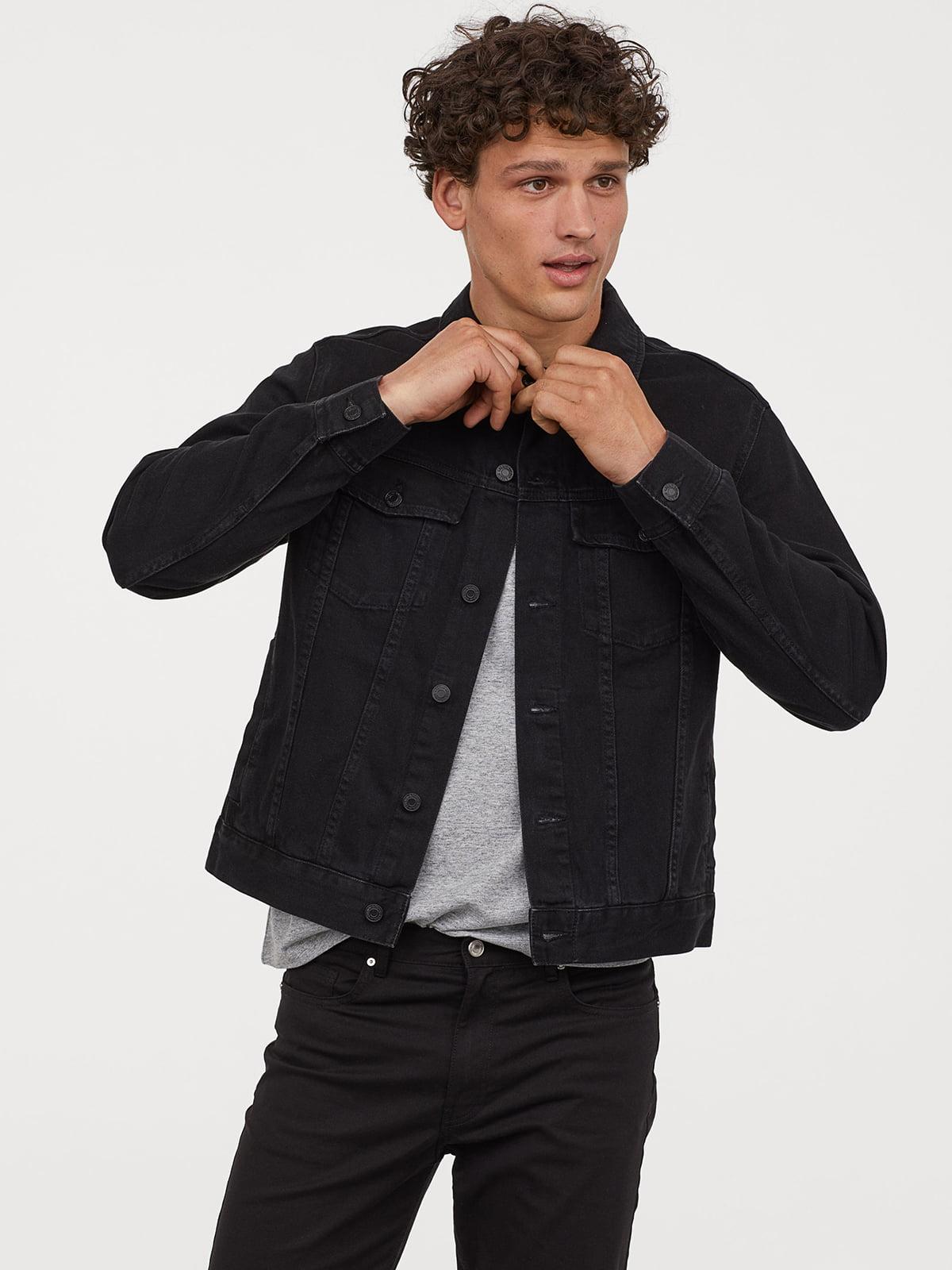 Шорты джинсовые черные | 5244625
