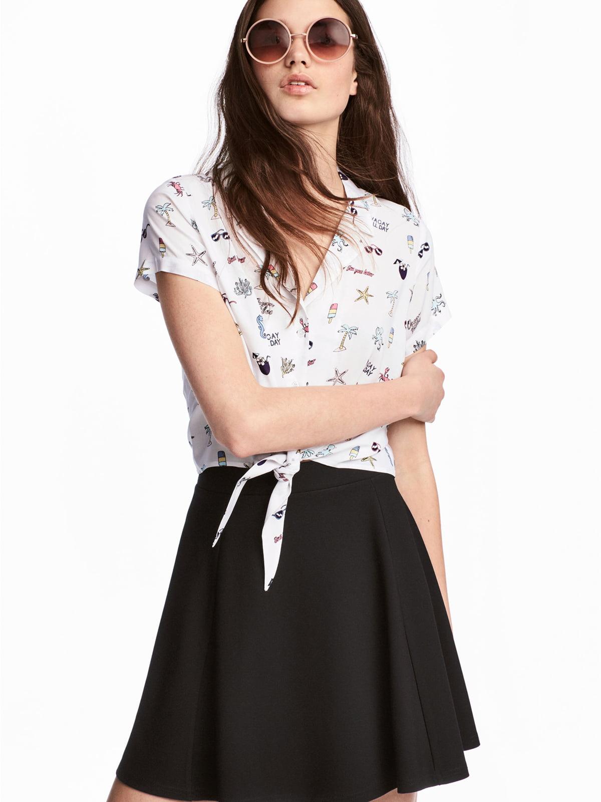 Блуза белая   5244781