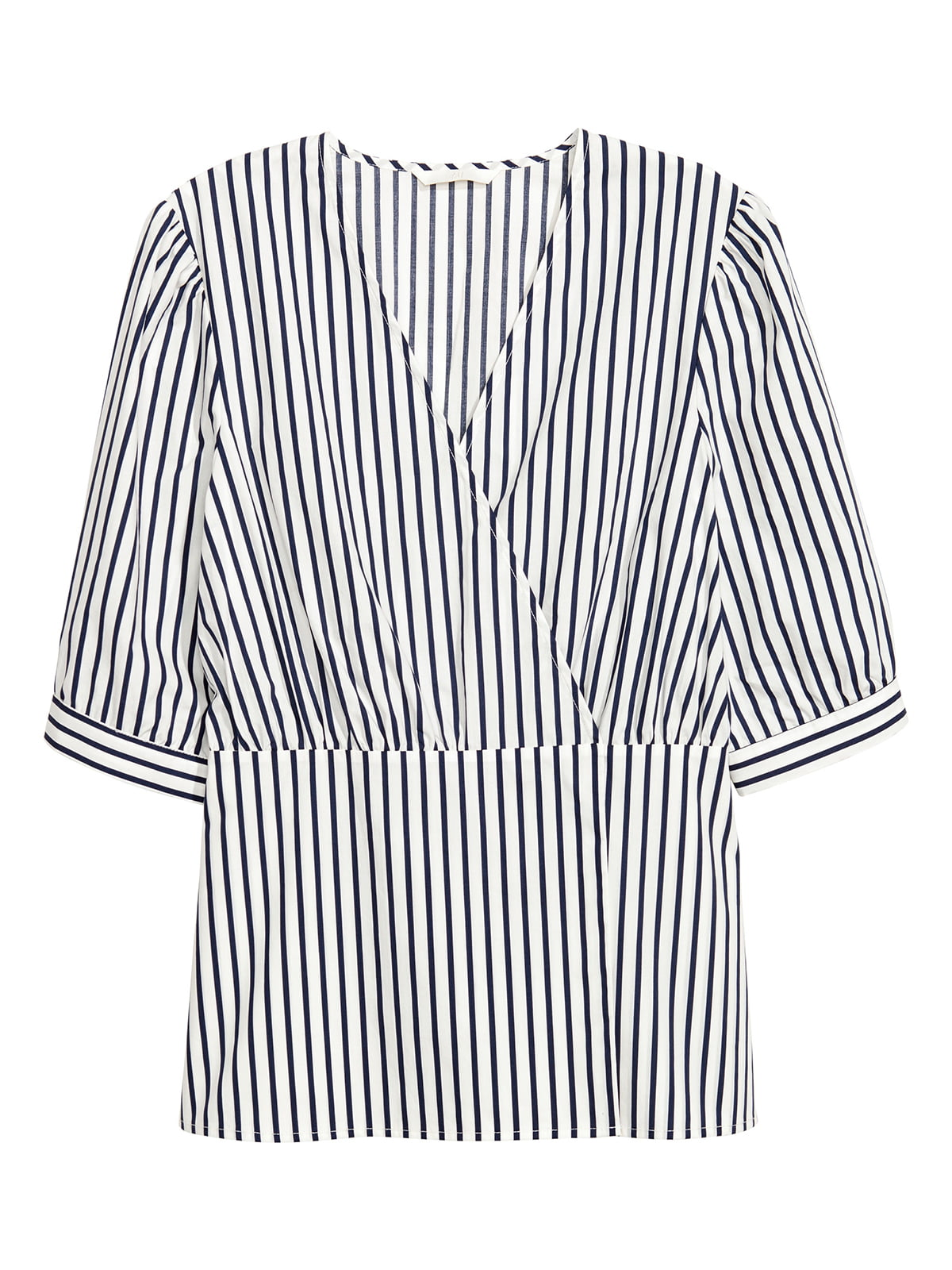 Блуза белая в полоску   5244812