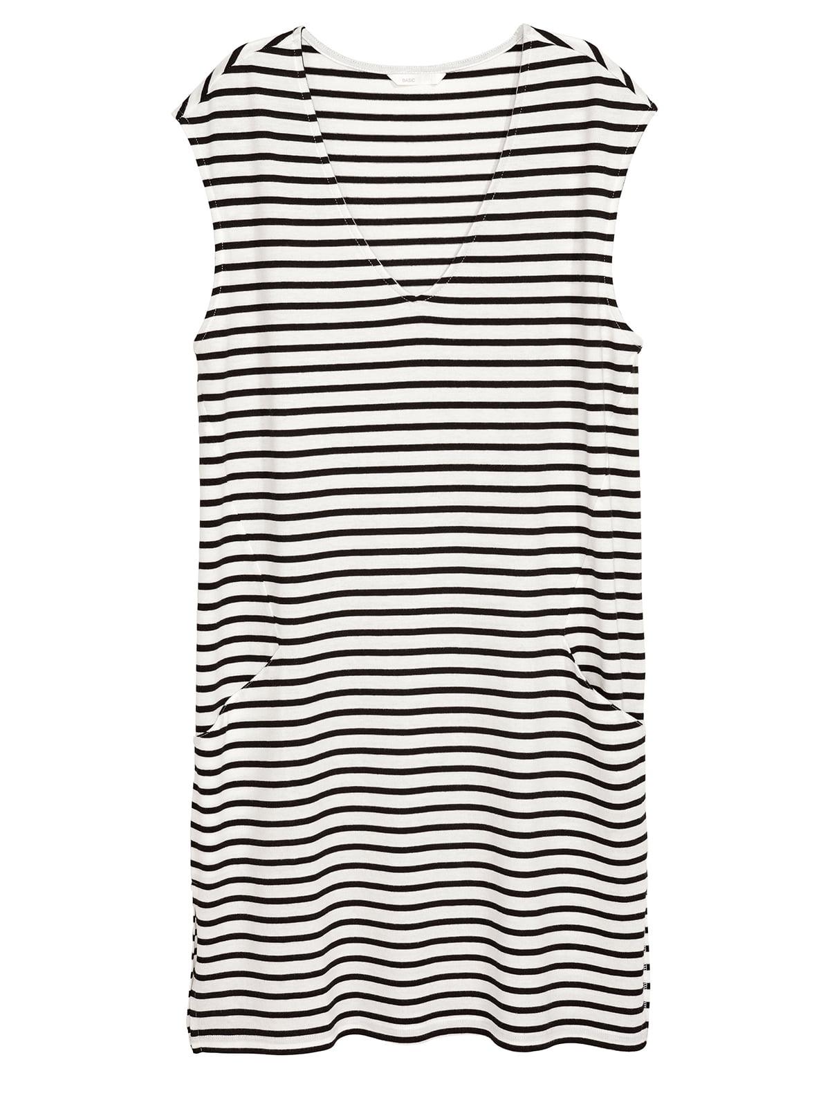 Платье черно-белое | 5244823
