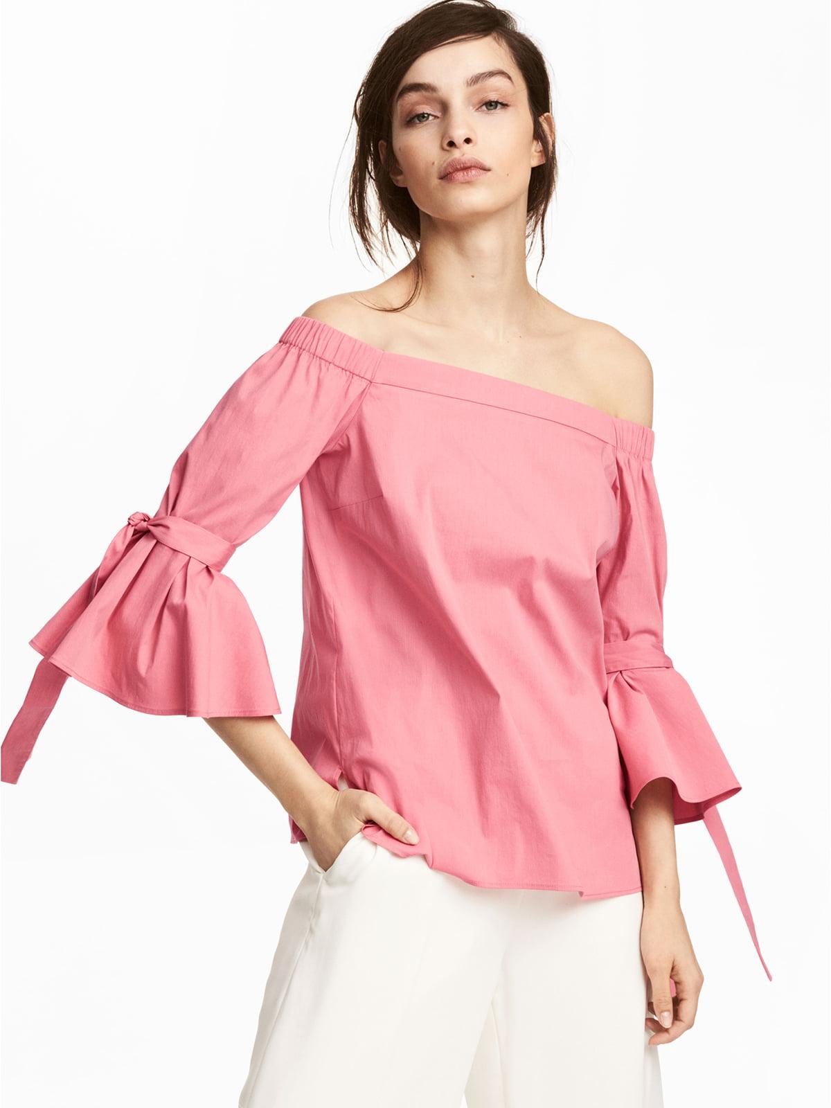 Блуза розовая | 5244847