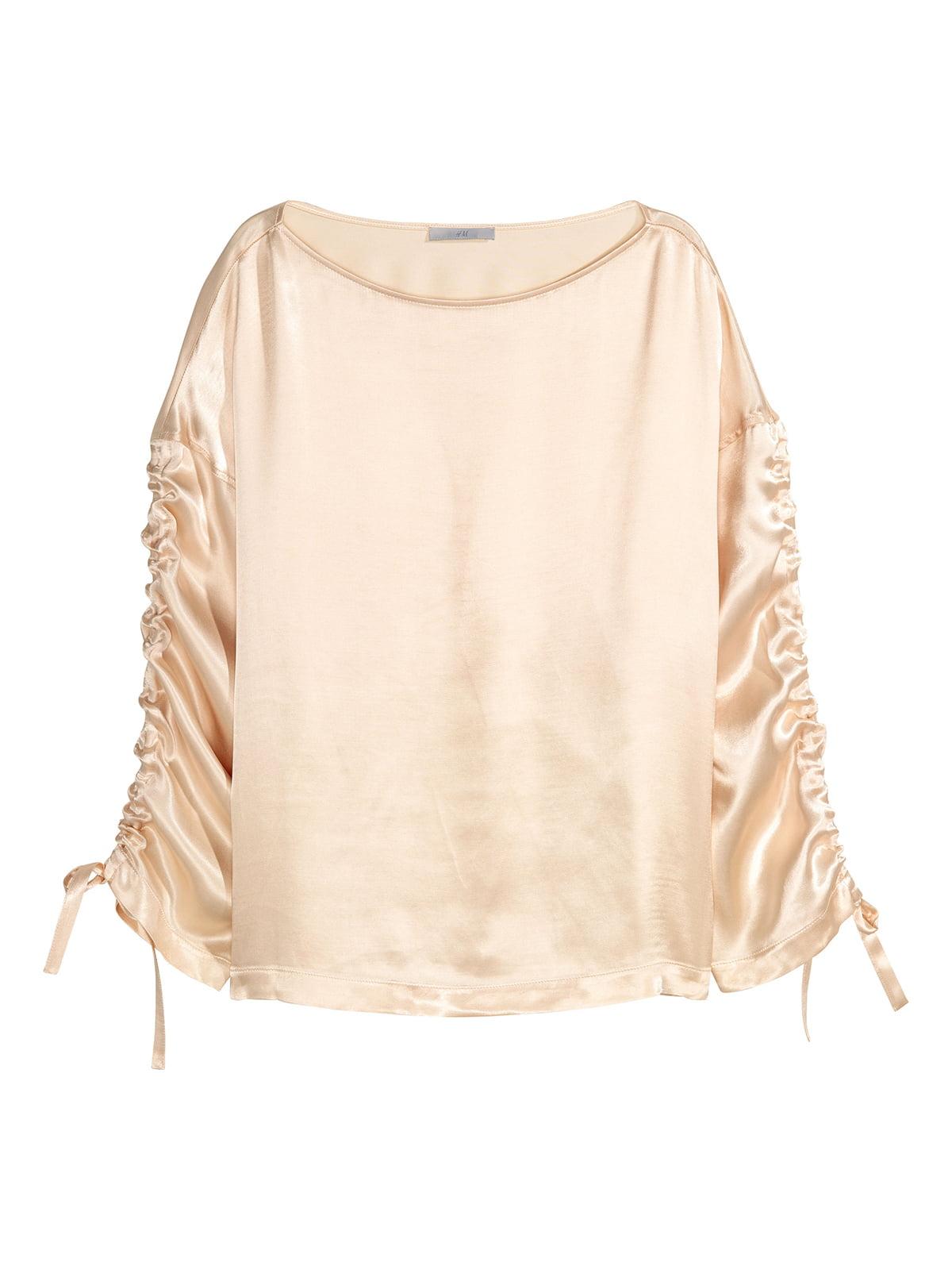 Блуза светло-бежевая | 5244882
