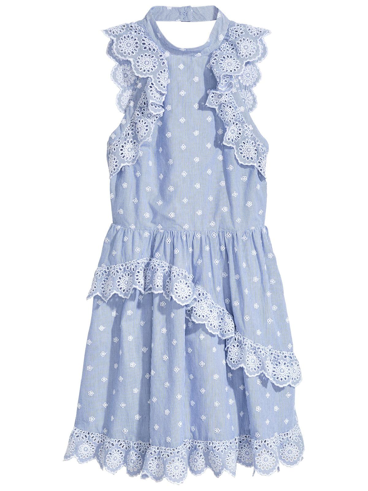 Платье голубое | 5244883