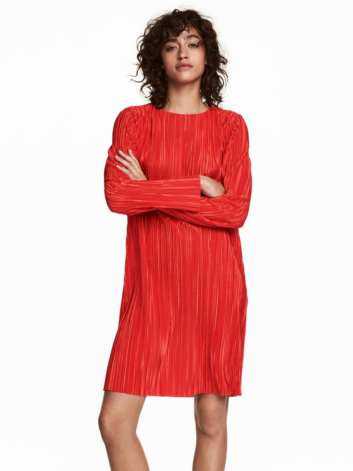 Платье ярко-красное   5244948
