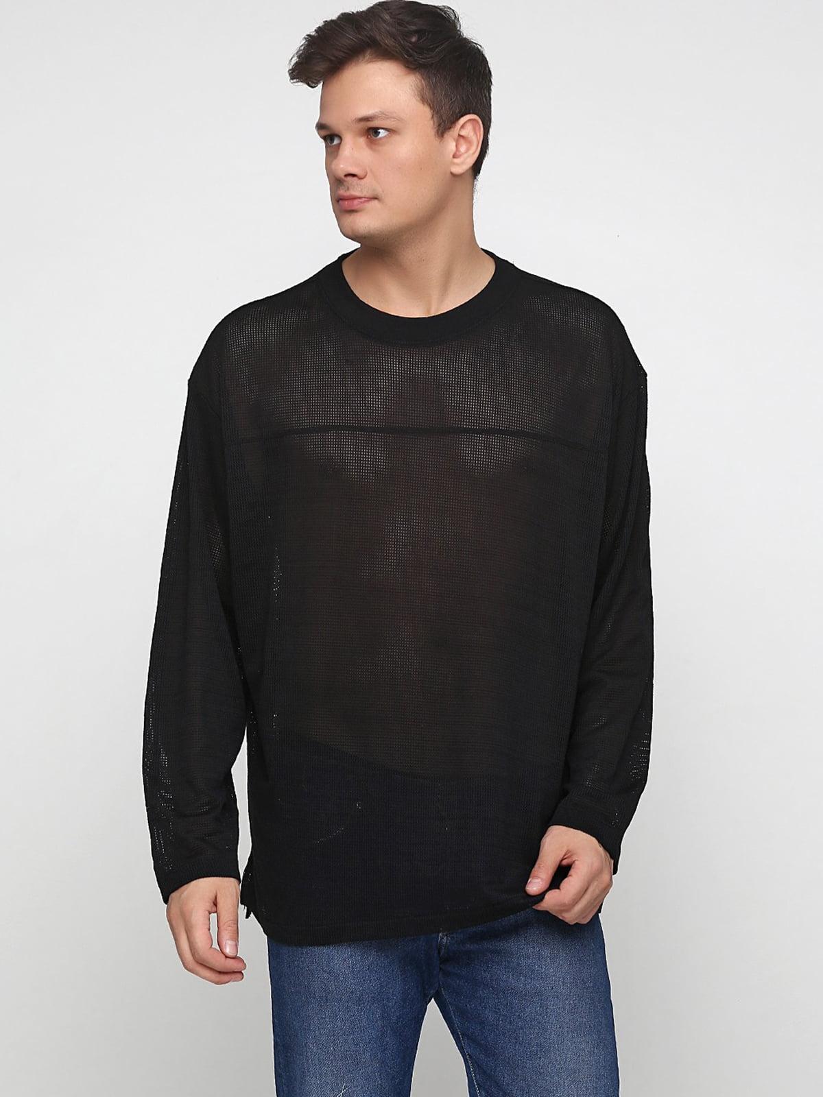 Лонгслив черный | 5245018
