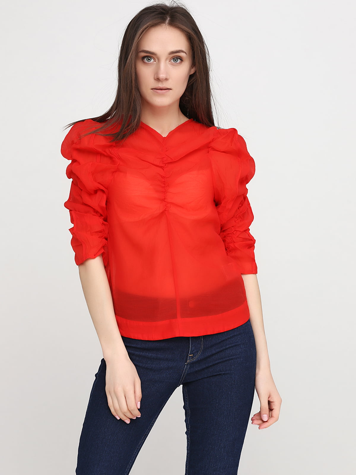 Блуза красная | 5245022