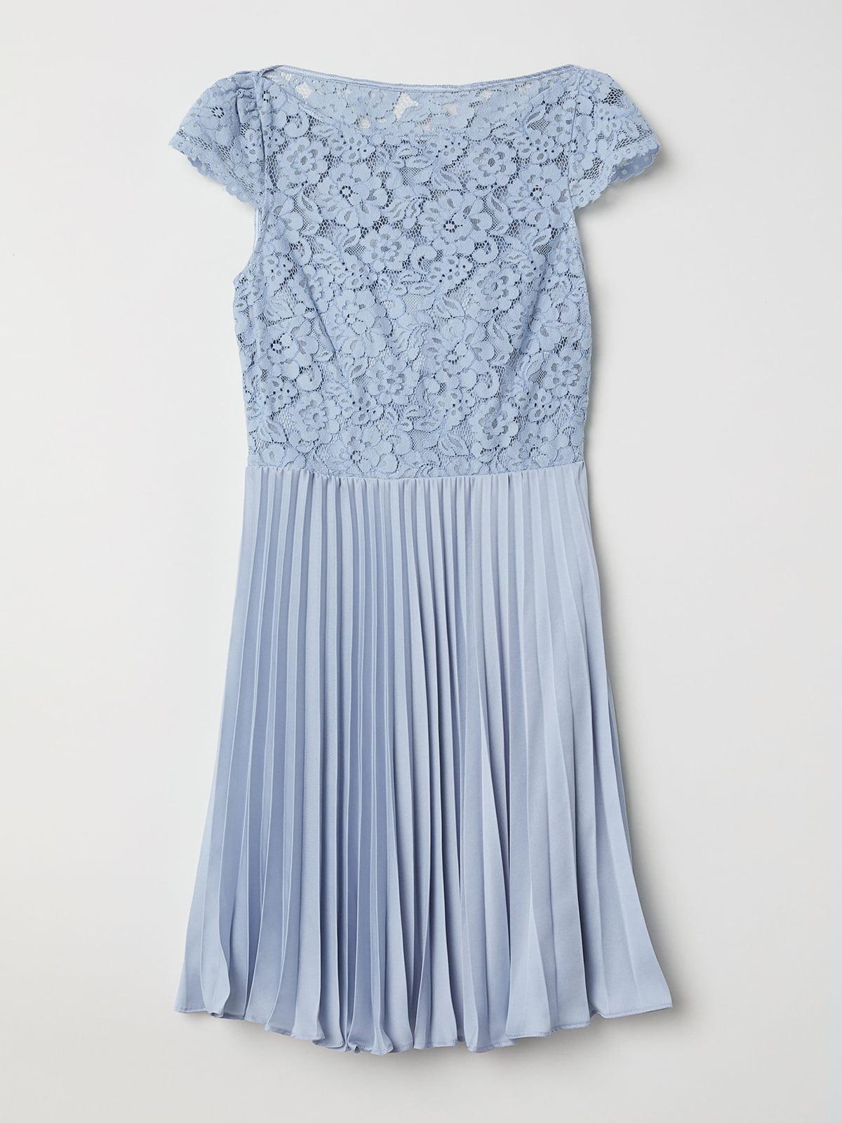 Платье голубое | 5245053