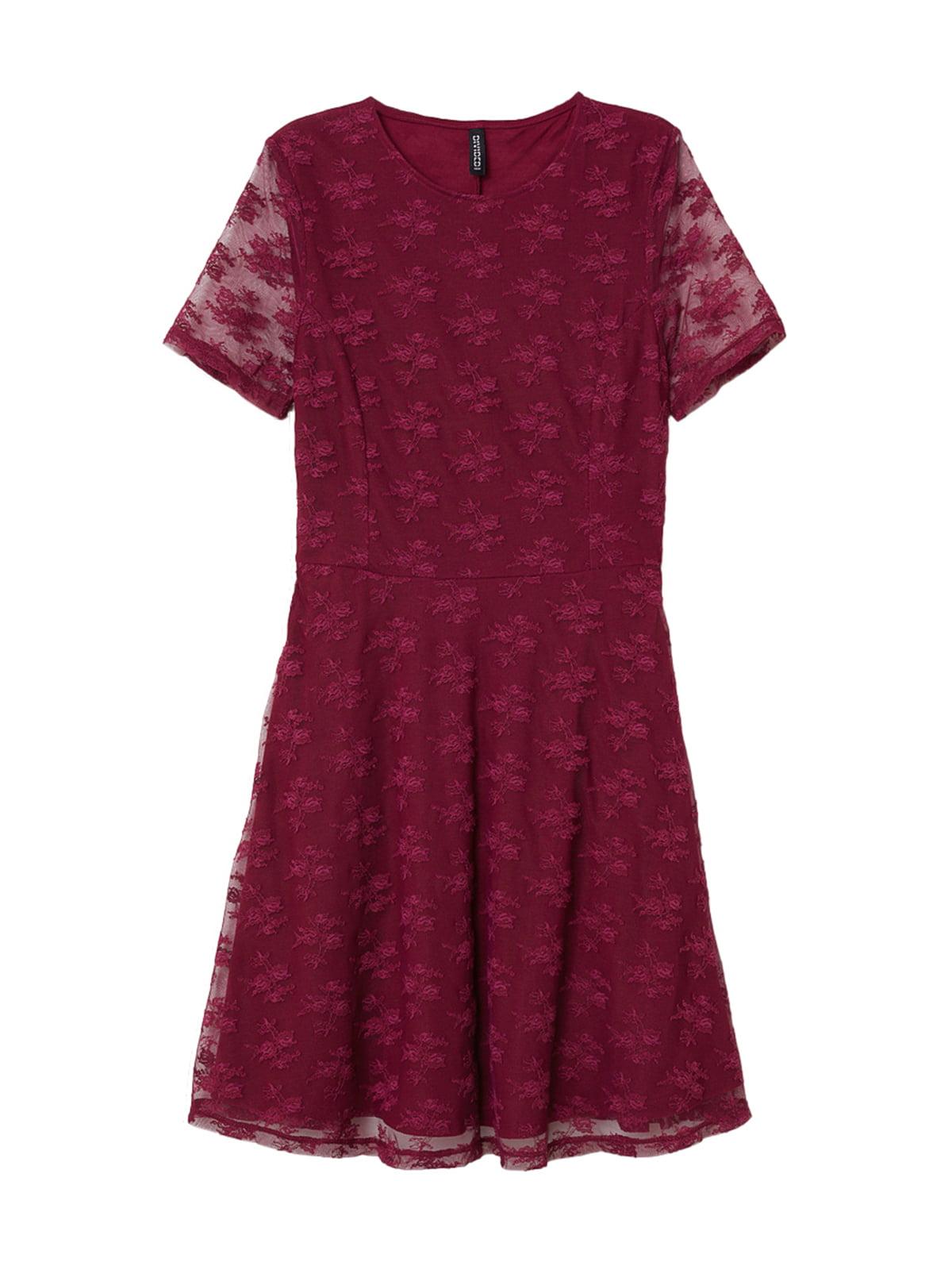 Платье вишневого цвета | 5245091
