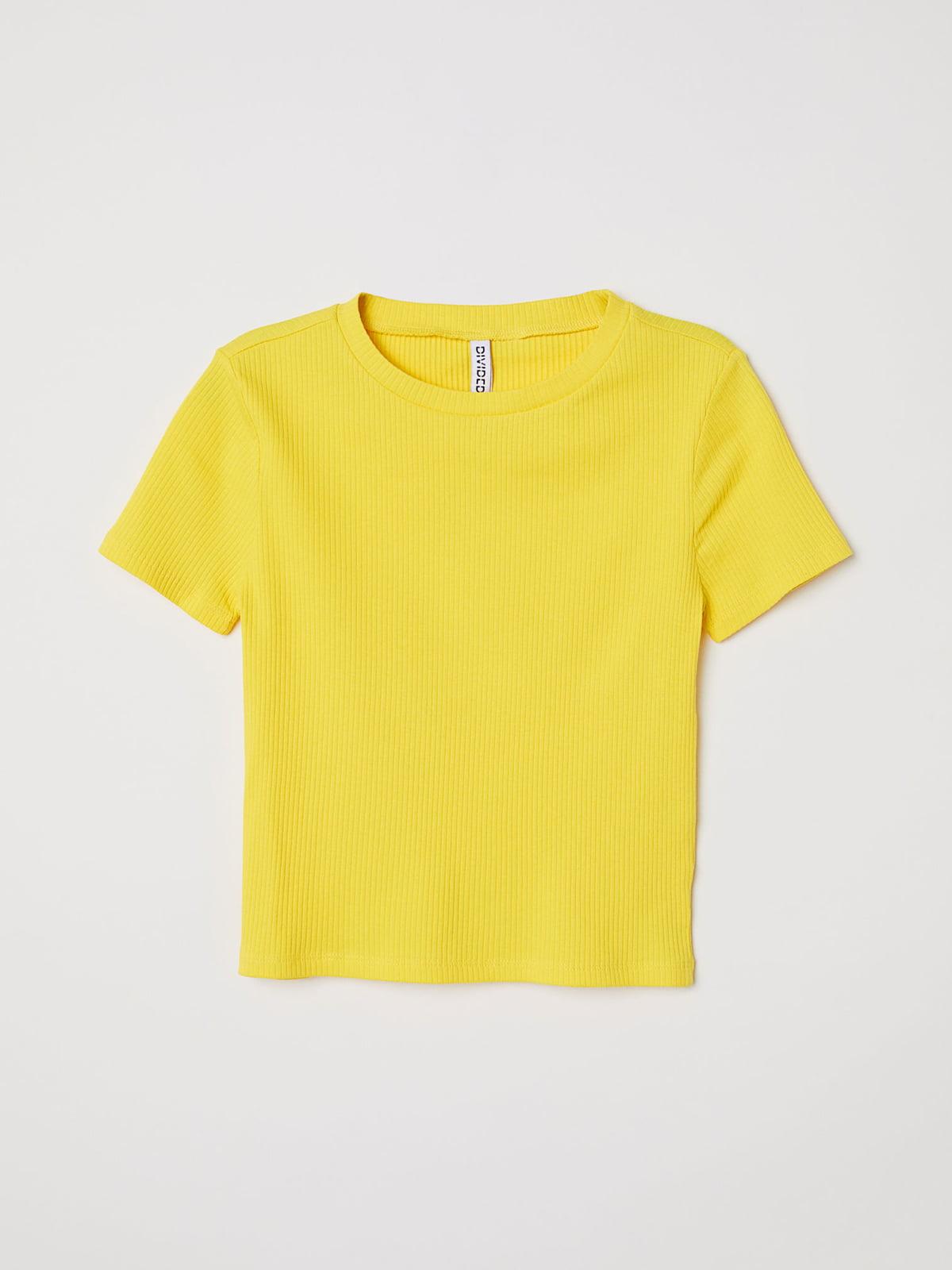 Футболка желтая | 5245111