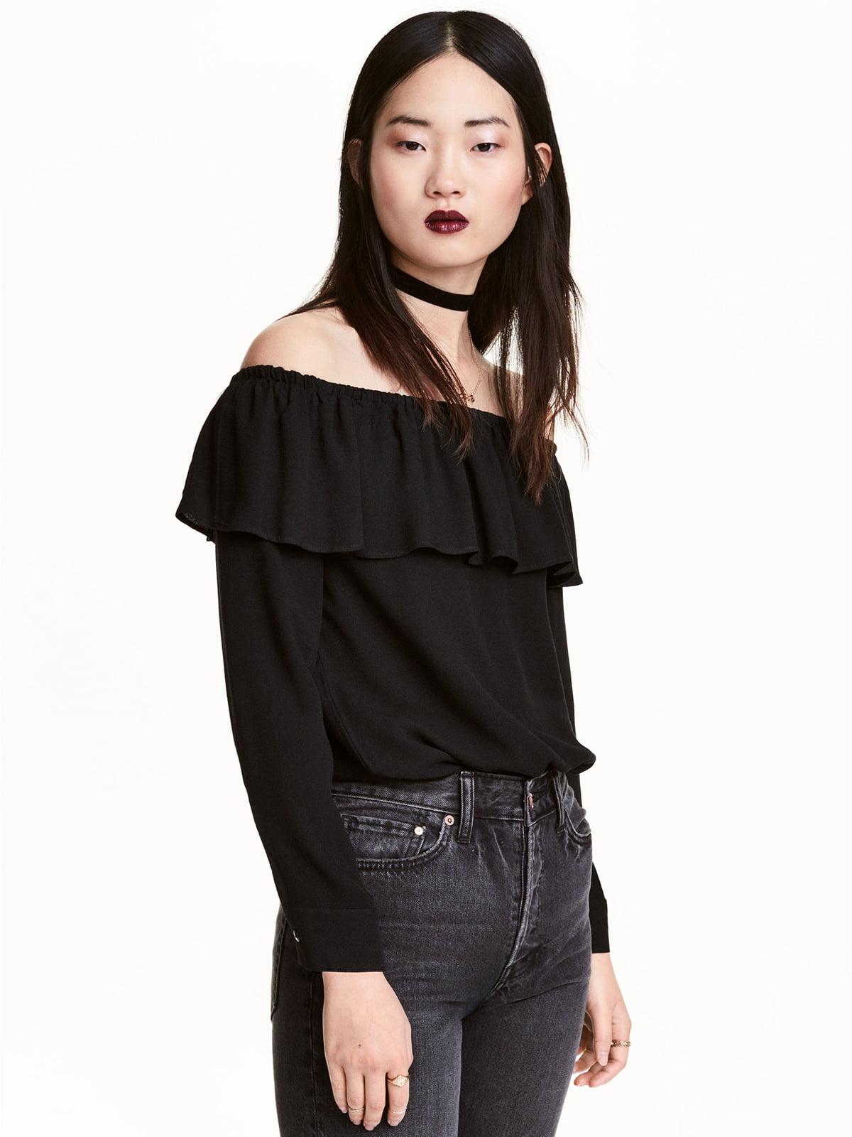 Блуза черная | 5245266